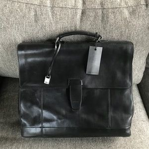 John Varvatos briefcase